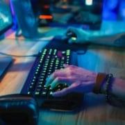 Gamer-tastatur med lys